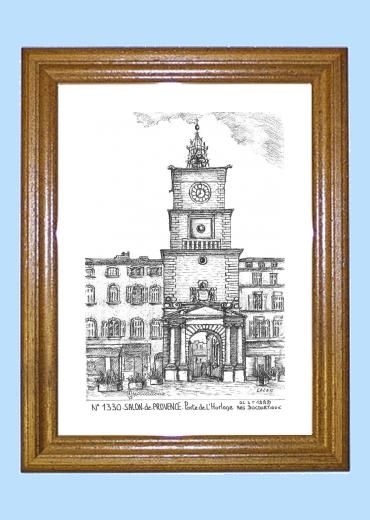 Cartes postales de salon de provence 13 bouches du rhone for Porte de l horloge salon de provence