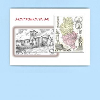 Cartes postales de st romain en gal 69 rhone yves - Piscine st romain en gal ...