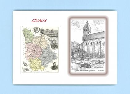 Cartes postales de civaux 86 vienne yves ducourtioux for Piscine de civaux