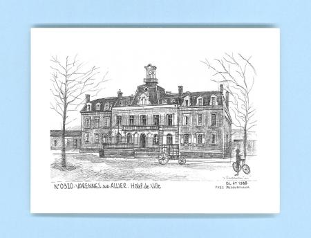 Cartes postales de varennes sur allier 03 allier yves for Recherche hotel sur carte