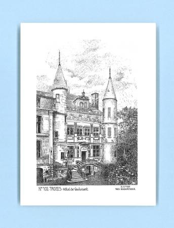 Cartes postales de troyes yves ducourtioux editeur for Recherche hotel sur carte