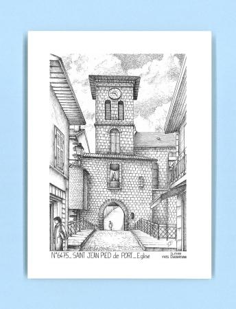 Cartes postales de lacommande 64 pyrenees atlantiques yves ducourtioux editeur souvenirs ville - Mairie st jean pied de port ...