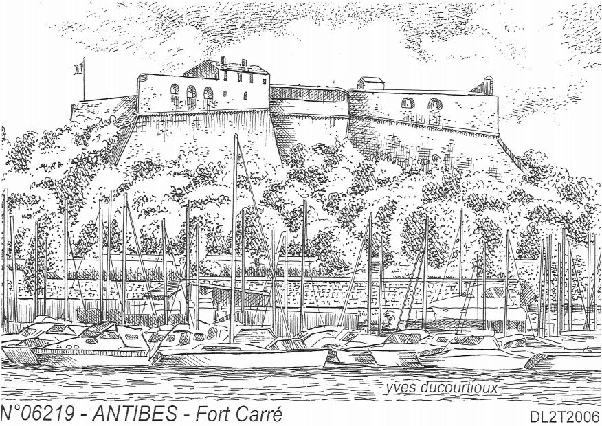 N° 06219 - ANTIBES - fort carré