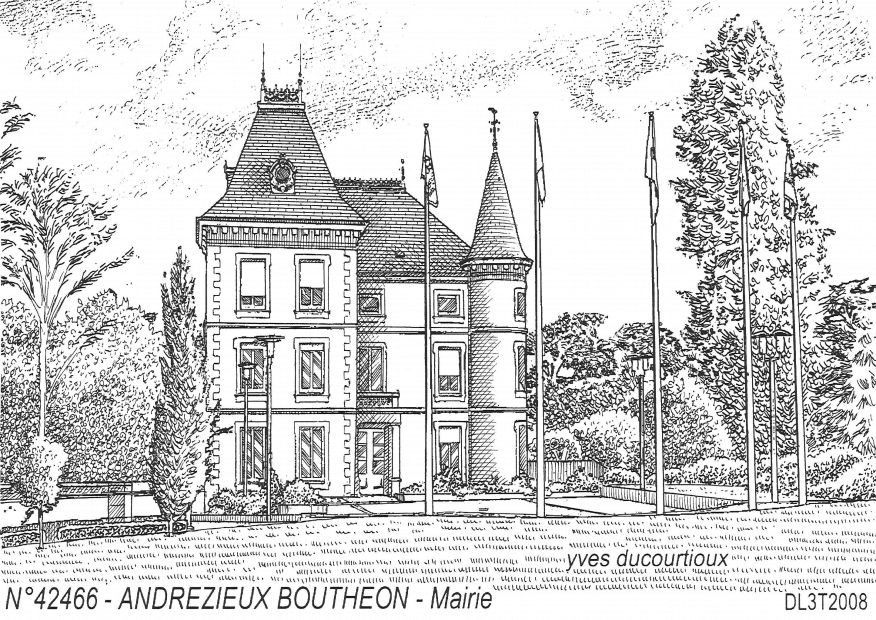 LLLCCCN° 42466 - ANDREZIEUX BOUTHEON - mairie