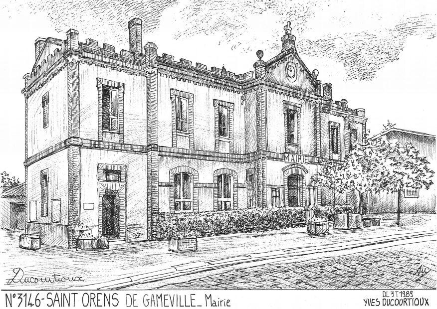 N 31046 st orens de gameville mairie - Piscine saint orens de gameville ...