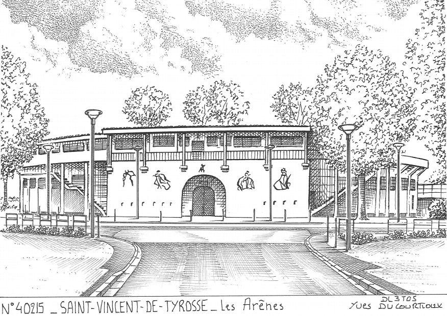 Cartes postales de garrosse 40 landes yves ducourtioux - Piscine saint vincent de tyrosse ...