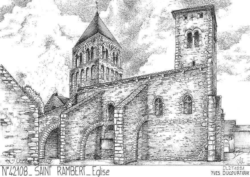Cartes postales de st just st rambert 42 loire yves ducourtioux editeur souvenirs ville - Piscine saint just saint rambert ...