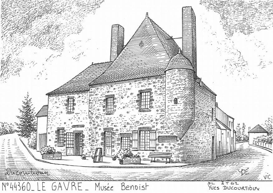 Cartes postales de bouee 44 loire atlantique yves for Porte neuve chateaubriant