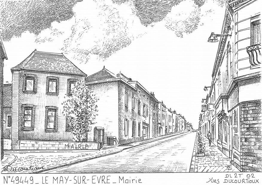 cartes postales de le may sur evre 49 maine et loire yves ducourtioux editeur souvenirs ville. Black Bedroom Furniture Sets. Home Design Ideas