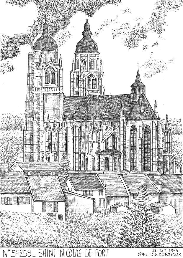 Cadeaux souvenirs de saint boingt 54 meurthe et moselle yves ducourtioux editeur souvenirs - Mairie saint nicolas de port ...