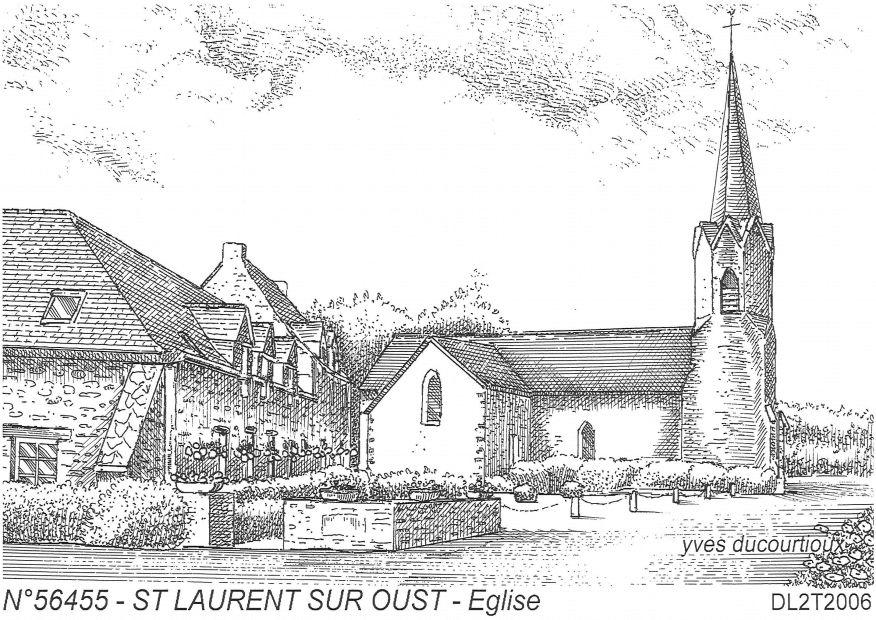 Cartes postales de lann bihouee 56 morbihan yves ducourtioux editeur souven - Saint laurent sur oust ...