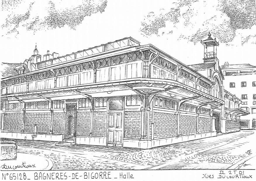 Cartes postales de jezeau 65 hautes pyrenees yves - Piscine bagneres de bigorre ...