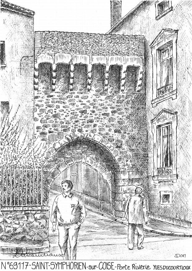 Cartes postales de saint symphorien sur coise 69 rhone - Piscine saint symphorien sur coise ...