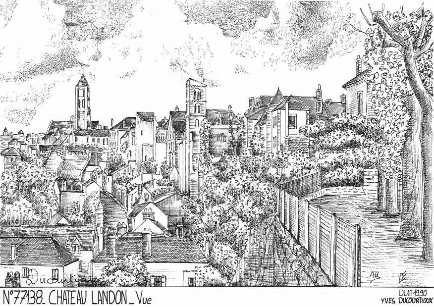 Cartes postales de chalifert 77 seine et marne yves for Chateau landon piscine