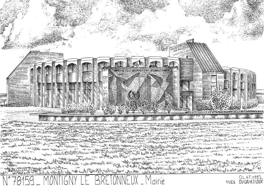 cartes postales de montigny le bretonneux 78 yvelines yves ducourtioux editeur souvenirs ville