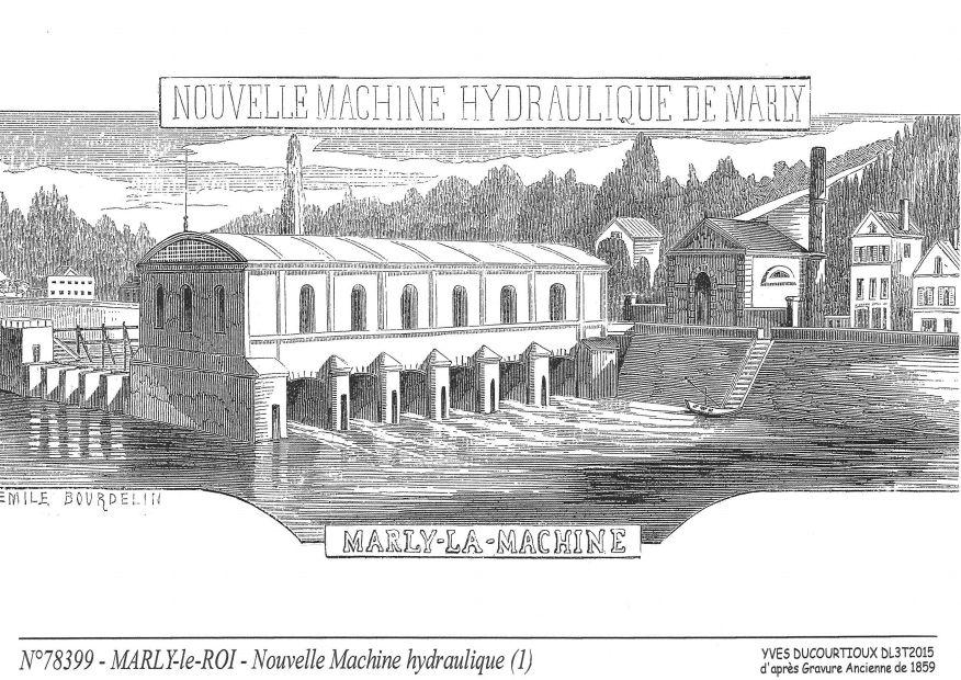 Cartes postales de craches 78 yvelines yves ducourtioux for Piscine marly le roi