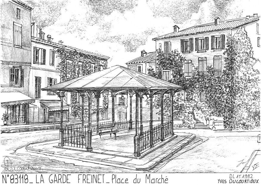 Cartes postales de la garde freinet 83 var yves ducourtioux editeur souvenirs ville departement - La garde var office du tourisme ...